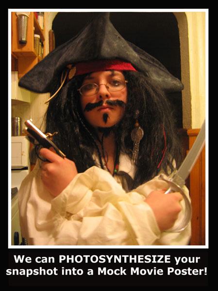 Hallowe'en Captain Jack Snapshot