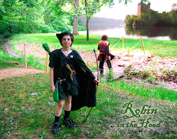 Robin Hood: After - with a magical background change.
