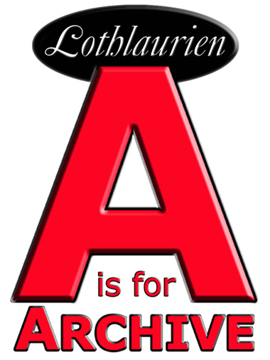 Lothlaurien A is for Archive Logo