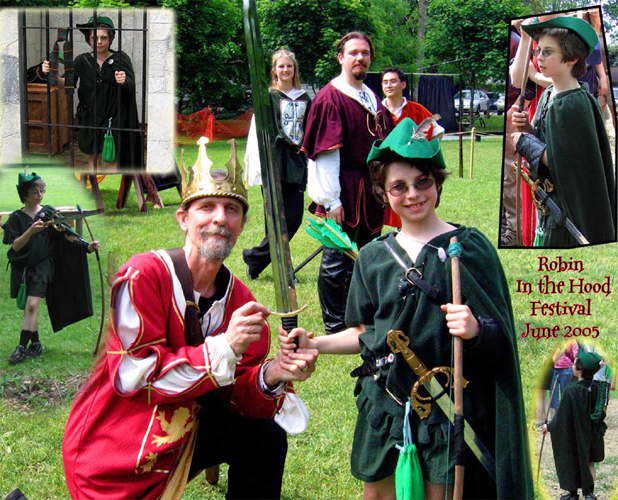 Robin In The Hood 2005: A youngster swept up in interactive theatre from jail cel to knighthood