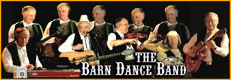 This composite image includes multiple poses of some of the band members playing instruments.
