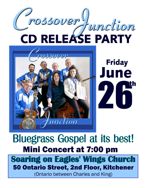 CD Release Party Poster