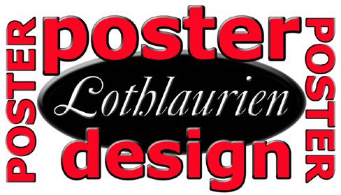 Lothlaurien Poster Design Logo