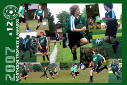 a soccer team soccer card