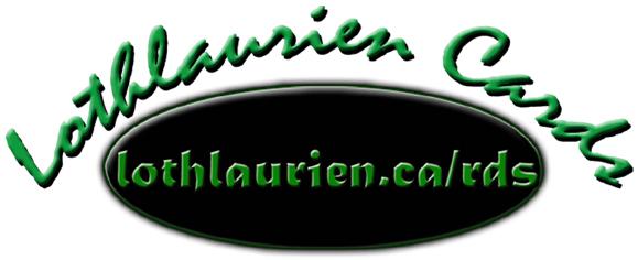 Lothlaurien Cards Logo